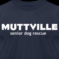 Design ~ Men's Muttville Any Color tee - white logo