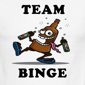 Team Binge - Men's Ringer T-Shirt
