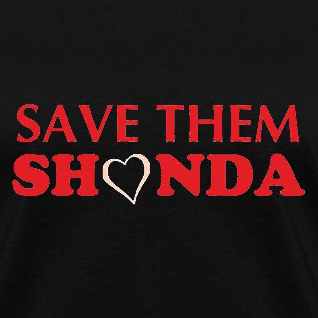 Save Them Shonda Tshirt