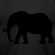 Design ~ Camouflage Elephant Flex Print Graphic Tee