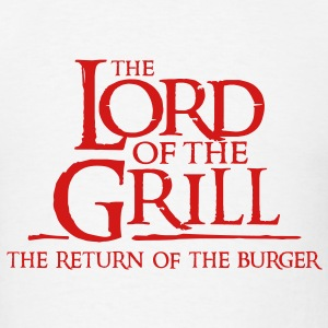The Lord of the Grill - Men's T-Shirt