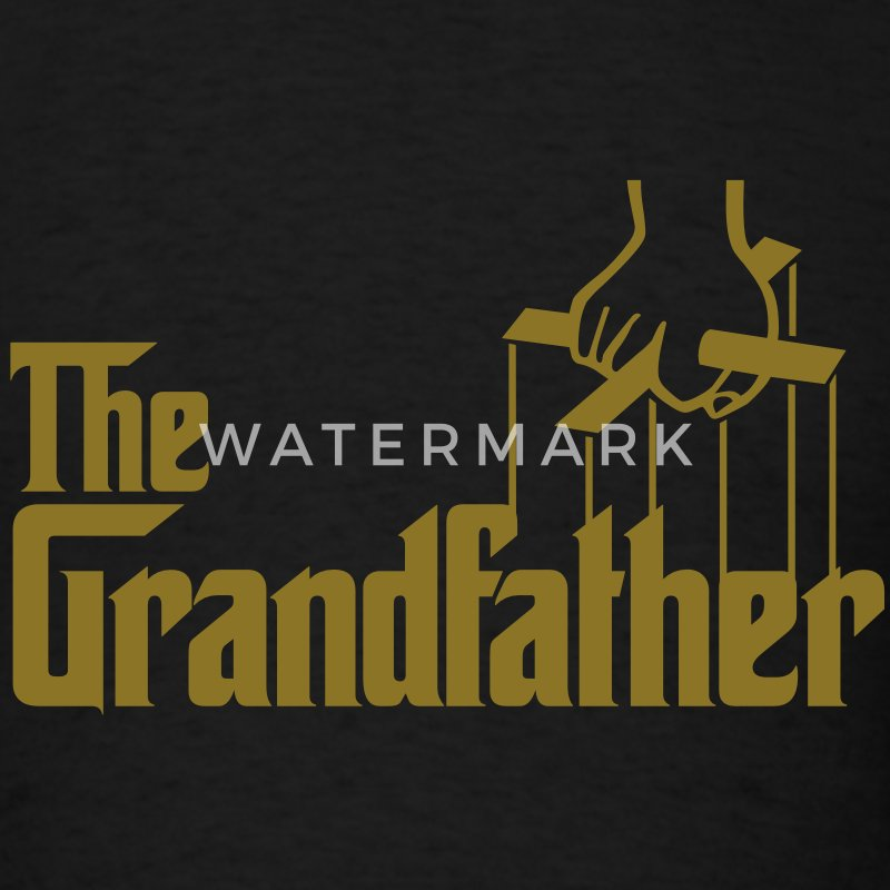 The Grandfather - Men's T-Shirt