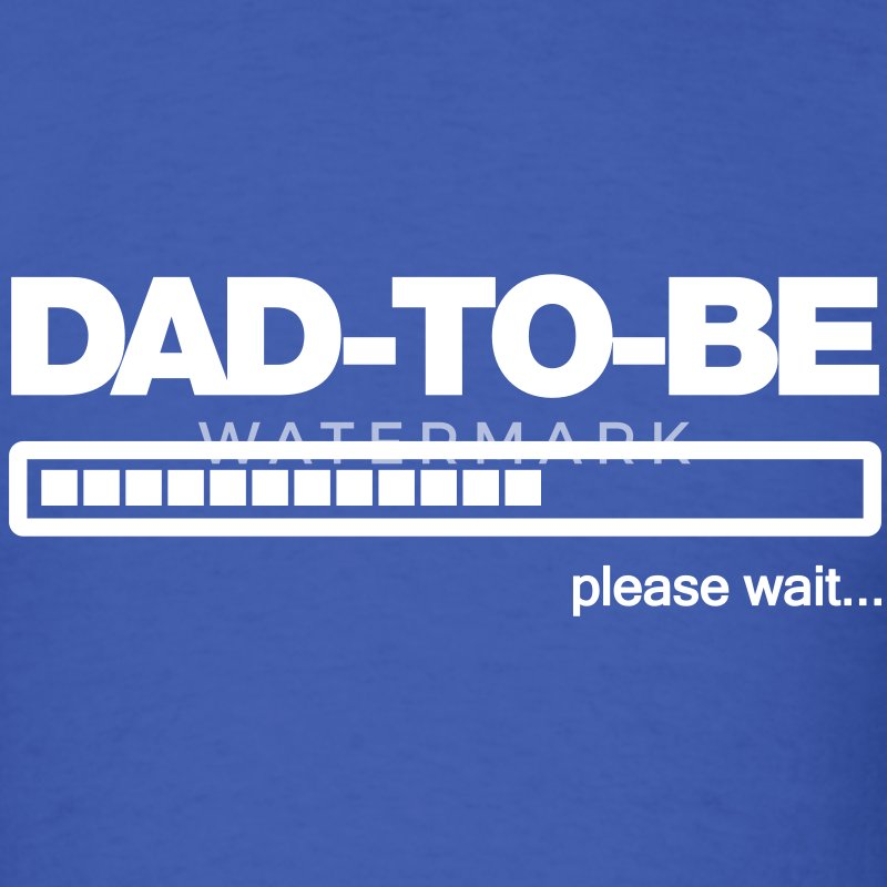 Dad-to-be - Men's T-Shirt