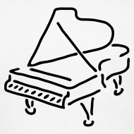 Design ~ Piano T-Shirt