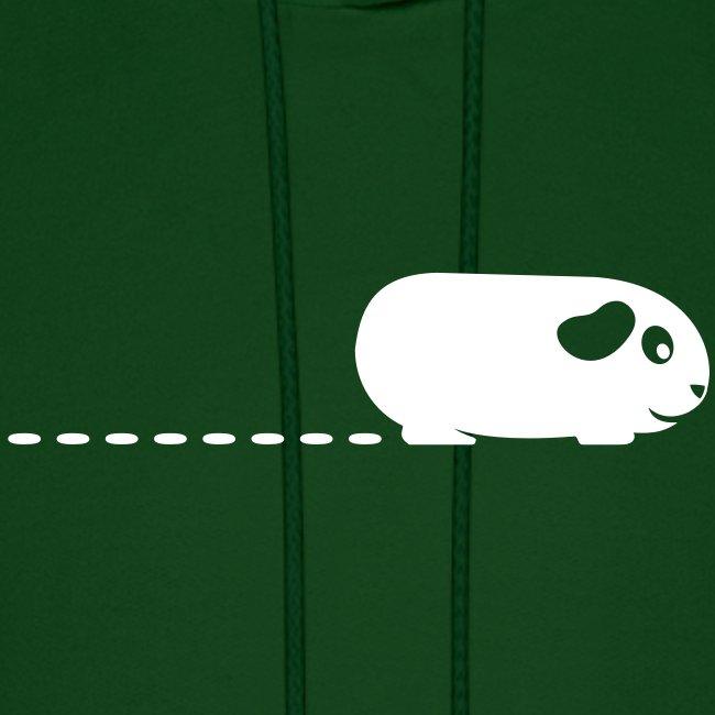 'Pooping Guinea Pig' Mens Hoodie