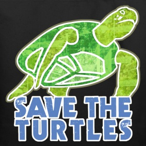 Save the Turtles - Eco-Friendly Cotton Tote