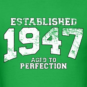 established_1947 T-Shirts - Men's T-Shirt