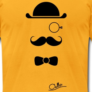 Bowler by Chiller  T-Shirts - Men's T-Shirt by American Apparel