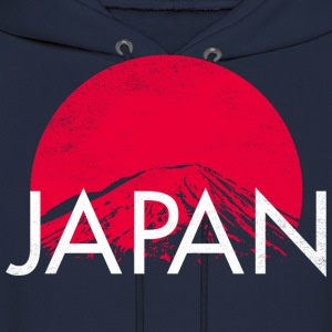 Japan Mt Fuji T-Shirt - Men's Hoodie