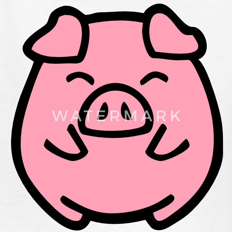 cute pig Kids' Shirts - Kids' T-Shirt