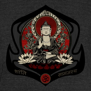 Gautama Buddha - Unisex Tri-Blend T-Shirt by American Apparel