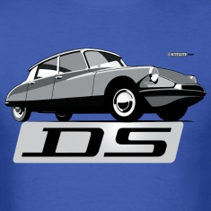 Citroën DS script emblem and illustration