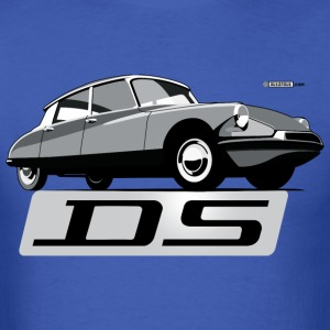Citroën DS script emblem and illustration - Men's T-Shirt
