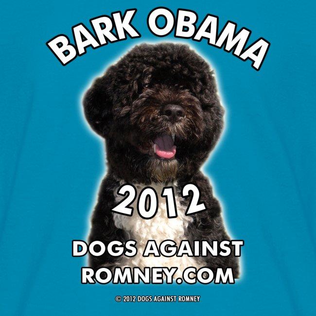"""Official Dogs Against Romney """"Bark Obama 2012"""" Children's Tee"""