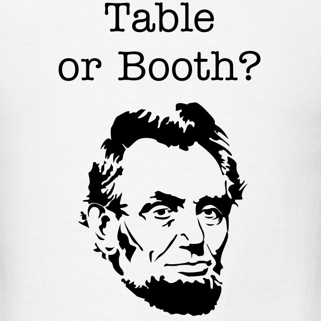 Table or Booth?