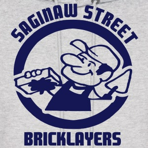 Saginaw St. Bricklayers Hoodies - Men's Hoodie