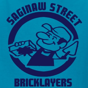 Saginaw St. Bricklayers Kids' Shirts - Kids' T-Shirt