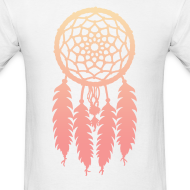 Design ~ DIP DYE DREAMCATCHER - MENS TSHIRT