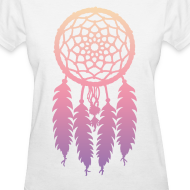 Design ~ DIP DYE DREAMCATCHER - LADIES TSHIRT
