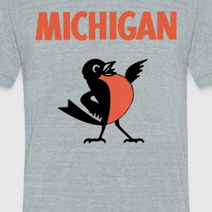State Bird T-Shirts - Unisex Tri-Blend T-Shirt by American Apparel