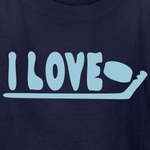 I love ice hockey Kids' T-Shirt - Kids' T-Shirt