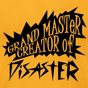 grand master creator of disaster (1c) T-Shirts - Men's T-Shirt by American Apparel