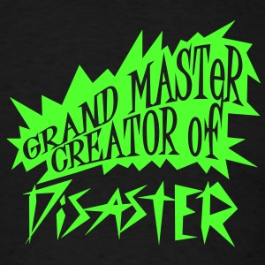 grand master creator of disaster (1c) T-Shirts - Men's T-Shirt