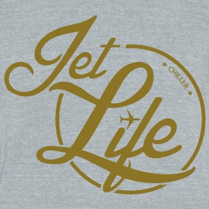 Chiller Jet Life T-Shirts - Unisex Tri-Blend T-Shirt by American Apparel