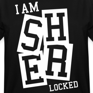 sherlocked T-Shirts - Men's Tall T-Shirt