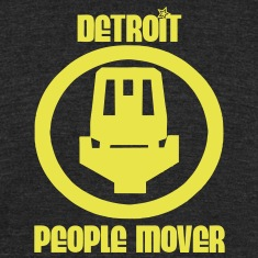 Detroit People Mover T-Shirts