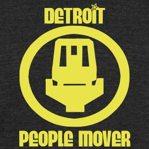 Detroit People Mover T-Shirts - Unisex Tri-Blend T-Shirt