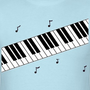 Piano Notes - Men's T-Shirt
