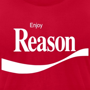 Enjoy Reason - Men's T-Shirt by American Apparel