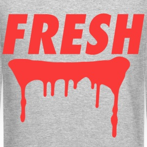 Fresh Sweatshirt Red - Crewneck Sweatshirt