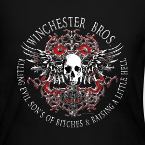 Winchester Bros Ring Patch 2 silver Long Sleeve Shirts - Women's Long Sleeve Jersey T-Shirt