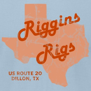 Riggins Rigs T-Shirt (Light Blue) - Men's T-Shirt by American Apparel