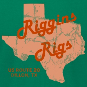 Riggins Rigs T-Shirt (Kelly Green) - Men's T-Shirt by American Apparel