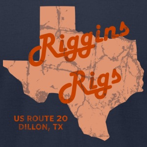 Riggins Rigs T-Shirt (Navy) - Men's T-Shirt by American Apparel