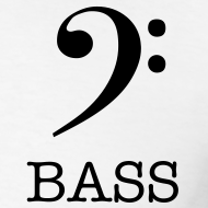 Design ~ Bass Clef T-Shirt