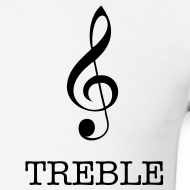 Design ~ Treble Clef T-Shirt