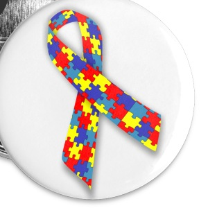 Autism Awareness Button - Small Buttons
