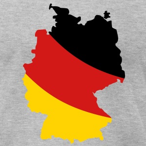 Germany map T-Shirts - Men's T-Shirt by American Apparel