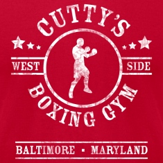 Cutty's Boxing Gym T-Shirt (Red)