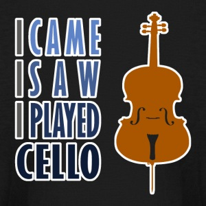 I Played Cello Kid's Long Sleeve T-Shirt - Kids' Long Sleeve T-Shirt