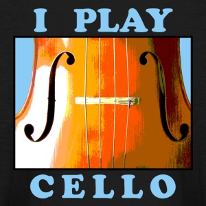 I Play Cello Kid's Long Sleeve T-Shirt - Kids' Long Sleeve T-Shirt