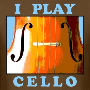 I Play Cello Men's T-Shirt - Men's T-Shirt