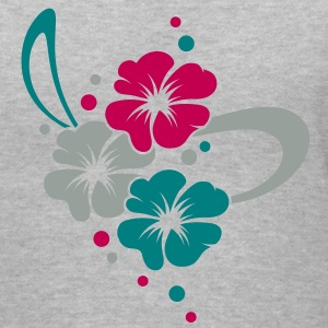 Flower Bouquet with ribbon Women's T-Shirts - Women's V-Neck T-Shirt