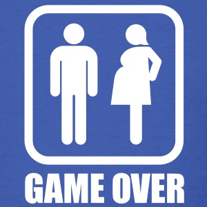 Game over - pregnant T-Shirts - Men's T-Shirt