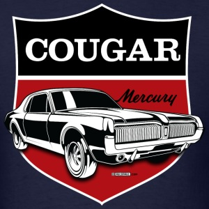 Classic Mercury Cougar crest - Men's T-Shirt