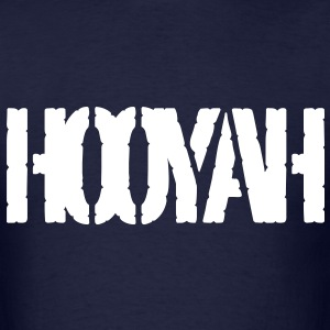 Hooyah battle cry - Men's T-Shirt